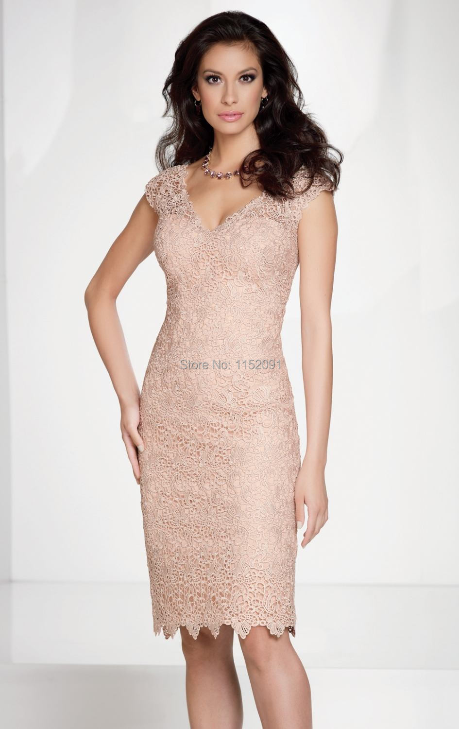 Cheap Mother Of The Bride Dresses Knee Length Wedding