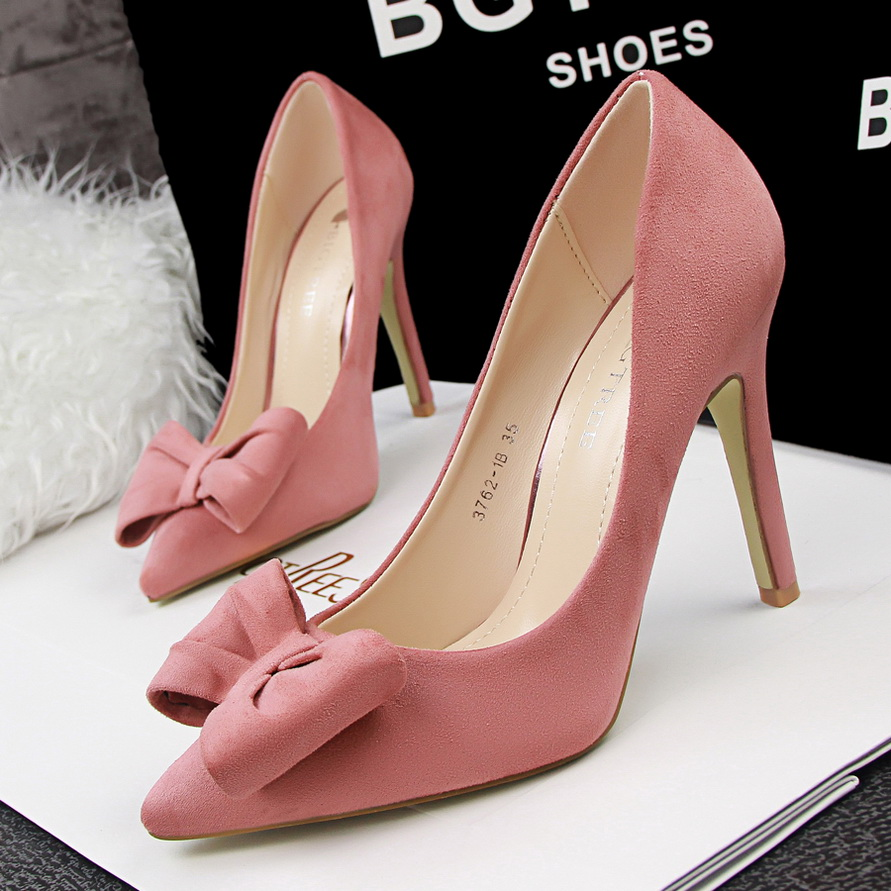 Hot Pink Wedding Shoes Low Heel