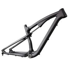 Buy 2016 high full suspension frame carbon fiber 650B mountain frames 27.5er mtb bike frame UD matt thru axle compatiable for $660.00 in AliExpress store