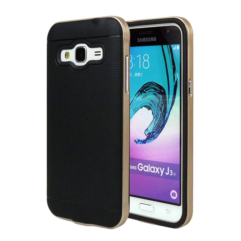 New Fashion Neo Hybrid Case for <font><b>Samsung</b></font> <font><b>Galaxy</b></font> <font><b>J3</b></font> Soft TPU + PC Back Cover for <font><b>Samsung</b></font> <font><b>J3</b></font>