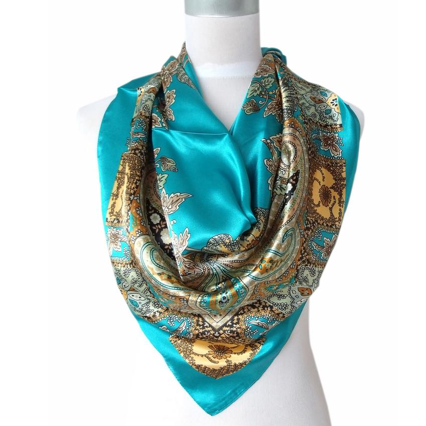 aliexpress buy 2014 sale satin square silk scarf