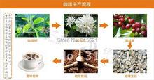 250g good quality Yunnan AAA roasted coffee beans black coffee bean Free shipping