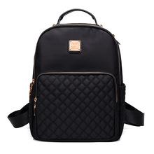 Buy New 2017 Women Backpack Waterproof Nylon Lady school bag Women's Backpacks Female Casual Travel backpack Bags mochila feminina for $21.24 in AliExpress store