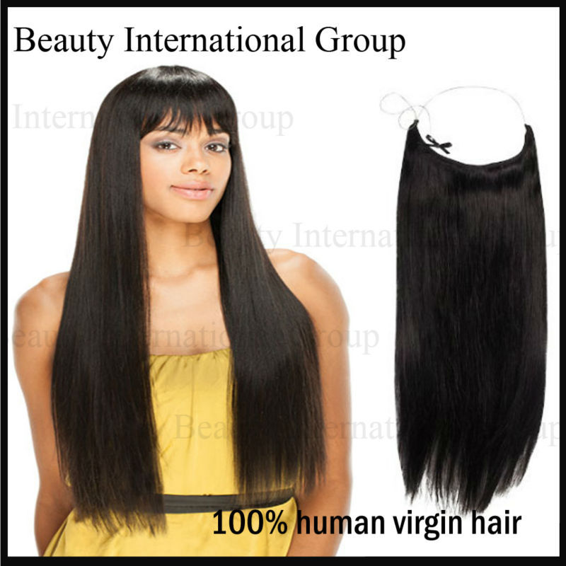 2 pacs/lot no clip alibaba express hair extensions no tangle no shedding all color flip in hair can be done DHL free sipping(China (Mainland))