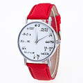 Fashion Girls Pattern Leather Band Analog Quartz Vogue Watches Relogio Feminino DEC 07