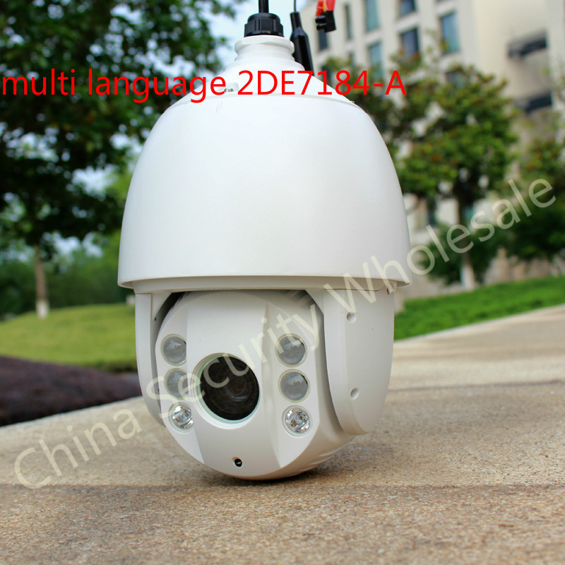 Hikvision DS-2DE7184 series 2MP HD Network IR Speed Dome IP PTZ dome speed camera DS-2DE7184-A<br><br>Aliexpress