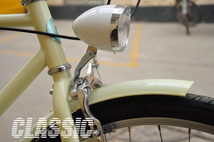 Retro LED Bicycle Light -Vintage bicycle lights led headlight lamp vintage free shopping classic bicycle headlight(China (Mainland))
