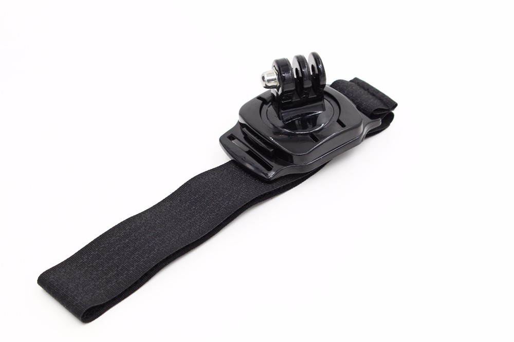 Sj4000 360 Degree Rotaty Wrist Hand Strap for Go Pro Band Mount Holder for GoPro Hero 4 3 2 Xiaomi Yi Action Camera Accessories