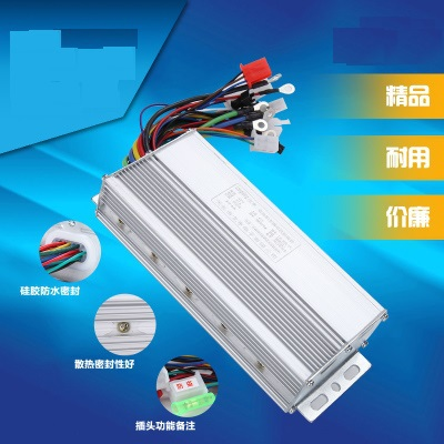 Free shipping 48v 500w brushless motor controller for electric ebike scooter bike(China (Mainland))