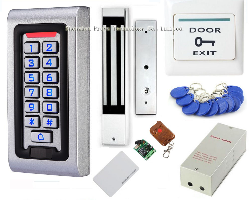 Alibaba express remote electric rfid door access control system glass door(China (Mainland))
