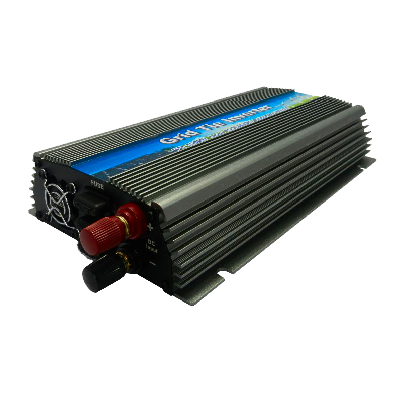 Inversor 10.5-30v 1000W Solar High Frequency Pure Sine Wave Grid Tie Inverter Output 190-260V Power Inverter(China (Mainland))