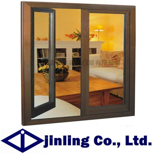 Buy aluminum wood swing windows for sale for New windows for sale