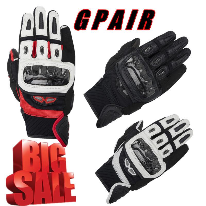 2016 Hot GP AIR MOTO Motorcycle Racing Gloves Top Leather Black Red White Fashion Motocross Motorbike Guantes Urban Riders Luvas(China (Mainland))