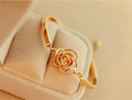 New Trendy Women Crystal Elagant Flower Bangle Gold Plated Chain Bracelet Fashion Party Gift Free Shipping