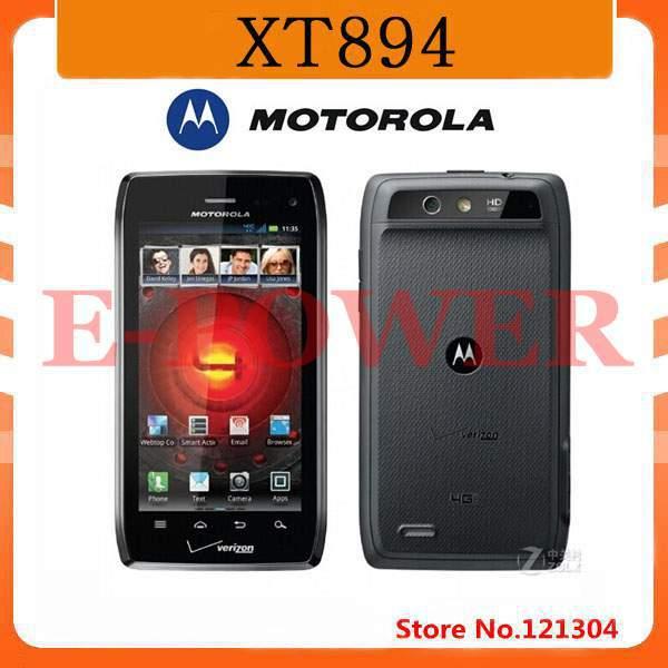 Original phone QWERTY Keyboard Motorola XT894 cell phones Refurbished Free Shipping(China (Mainland))