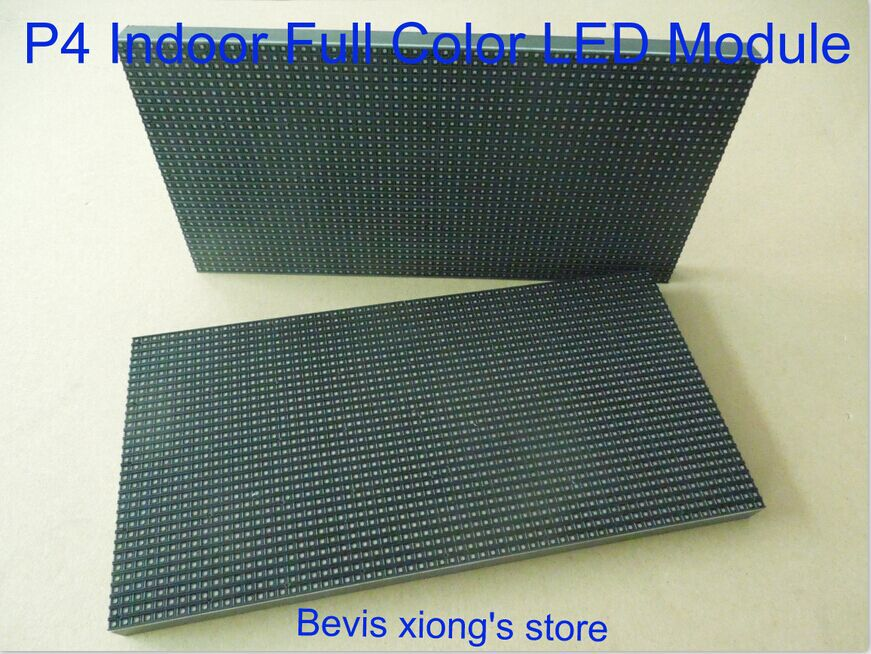 HD Indoor advertising led display screen / P4 SMD indoor RGB led module / 256mm*128mm / 1/16 scanning / P4 led display(China (Mainland))