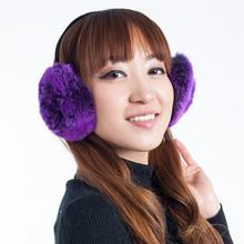 Rex rabbit hair autumn and winter thermal earmuffs general fashion ear package(China (Mainland))