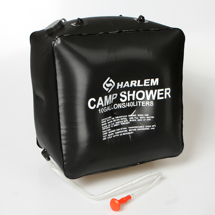 store product Portable outdoor camping solar shower bag water L Outdoor shampoo bath