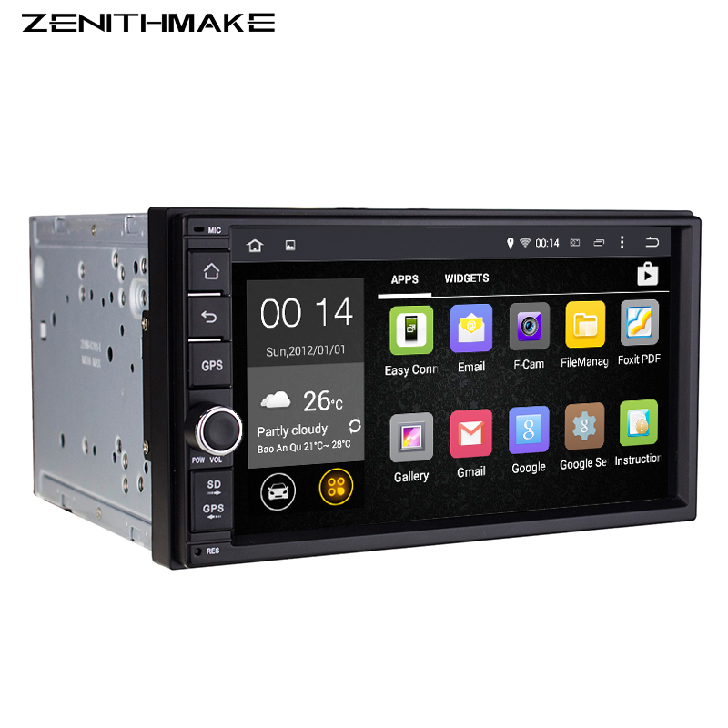 Free shipping Android 7'' Double 2Din Car Radio GPS Universal without dvd car Audio 2 din 7 inch car Stereo auto Radio Navigator(Hong Kong)
