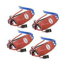 4x Simonk 20A Brushless Speed Controller ESC for Helicopter Airplane Multirotor quadcopter