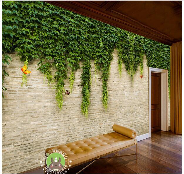 Hoge kwaliteit groothandel ivy kamer van chinese ivy kamer groothandelaars - Behang voor restaurant ...