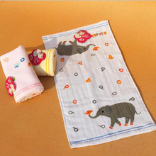 1pcs Baby Care Towel Kids Gauze Thick Cotton Hand Wash Face Towel Children Breathable Soft Bath & Shower Products Towel BY629