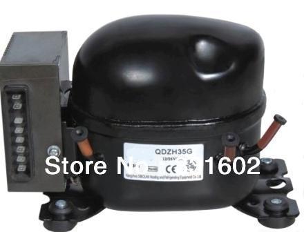 ! R134A 12V 24V Electric Compressor Car & vessel EV Motorhome Caravan Small Refrigerator-QDZH25G - Rigid Auto Parts Co., Ltd store