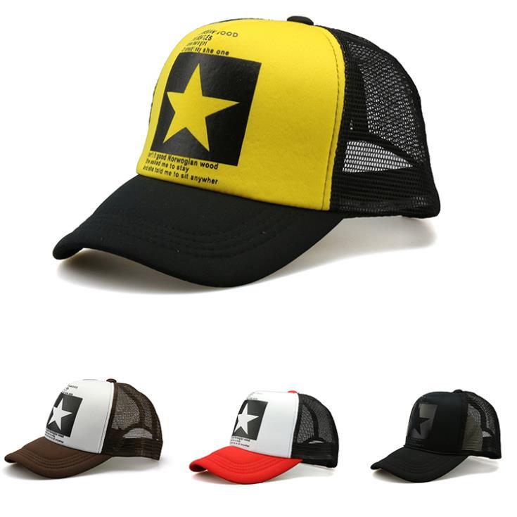 A big star in the hat! Simple Cool Nice caps hat baseball snapcap snapback caps Men women hiphop sport hats Gorras cap hat YJ6(China (Mainland))