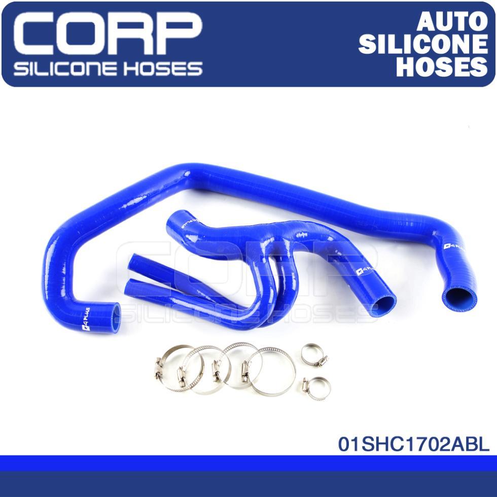 Corp силикона радиатора шланг отопителя комплект , пригодный для PEUGEOT 106 GT1 16 В / Citroen SAXO VIS 16 В