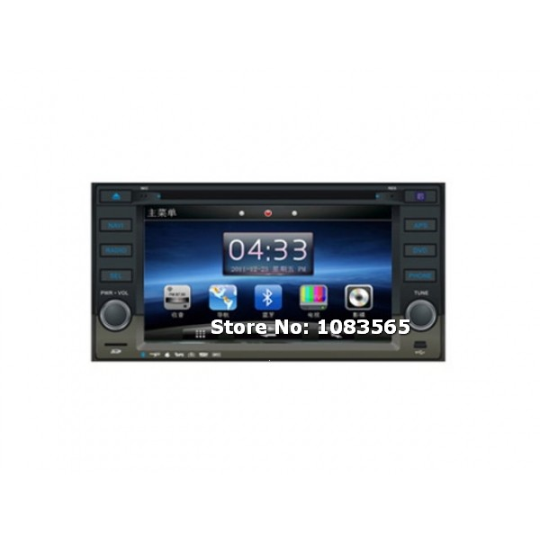 For Subaru Forester 2003 - 2013 In Dash Navigation Car DVD Player With Radio Bluetooth TV WINCE 6.0 System(China (Mainland))