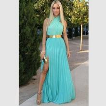 vestidos de color turquesa