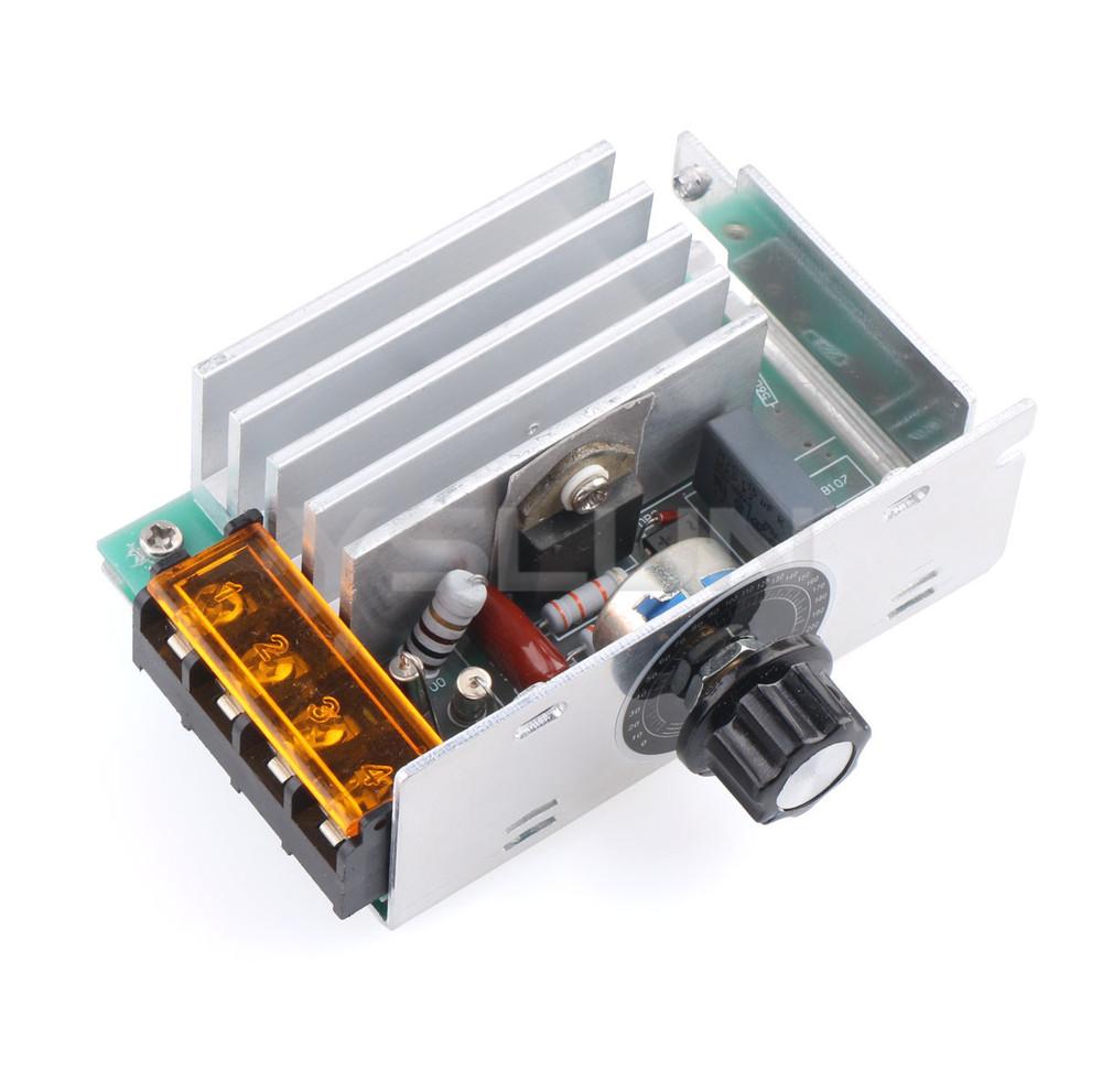 4000w Ac 220v Scr Adjustable Power Voltage Regulator Speed