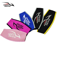 Neoprene Scuba Diving Mask Head Strap Cover Mask Padded Protect Long Hair Band Strap-Wrapper For Added Comfort Equipment(China (Mainland))
