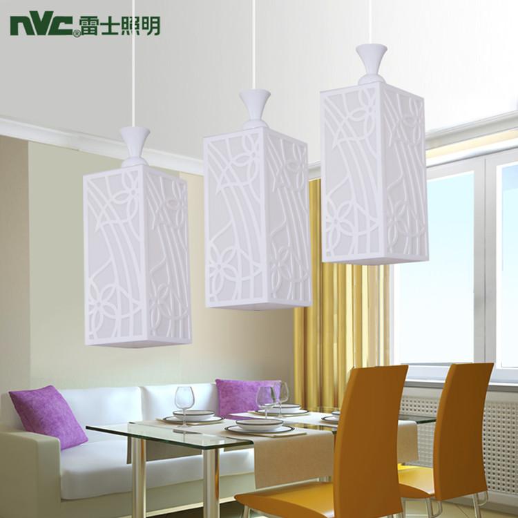 Nvc lighting fitting modern brief pendant lighting three head pendant light nad1322-3a(China (Mainland))