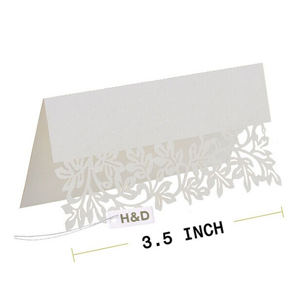 50pcs Hollow Out Mini Display Miniature Easel Wedding Table Number Place Name Card Stand(China (Mainland))
