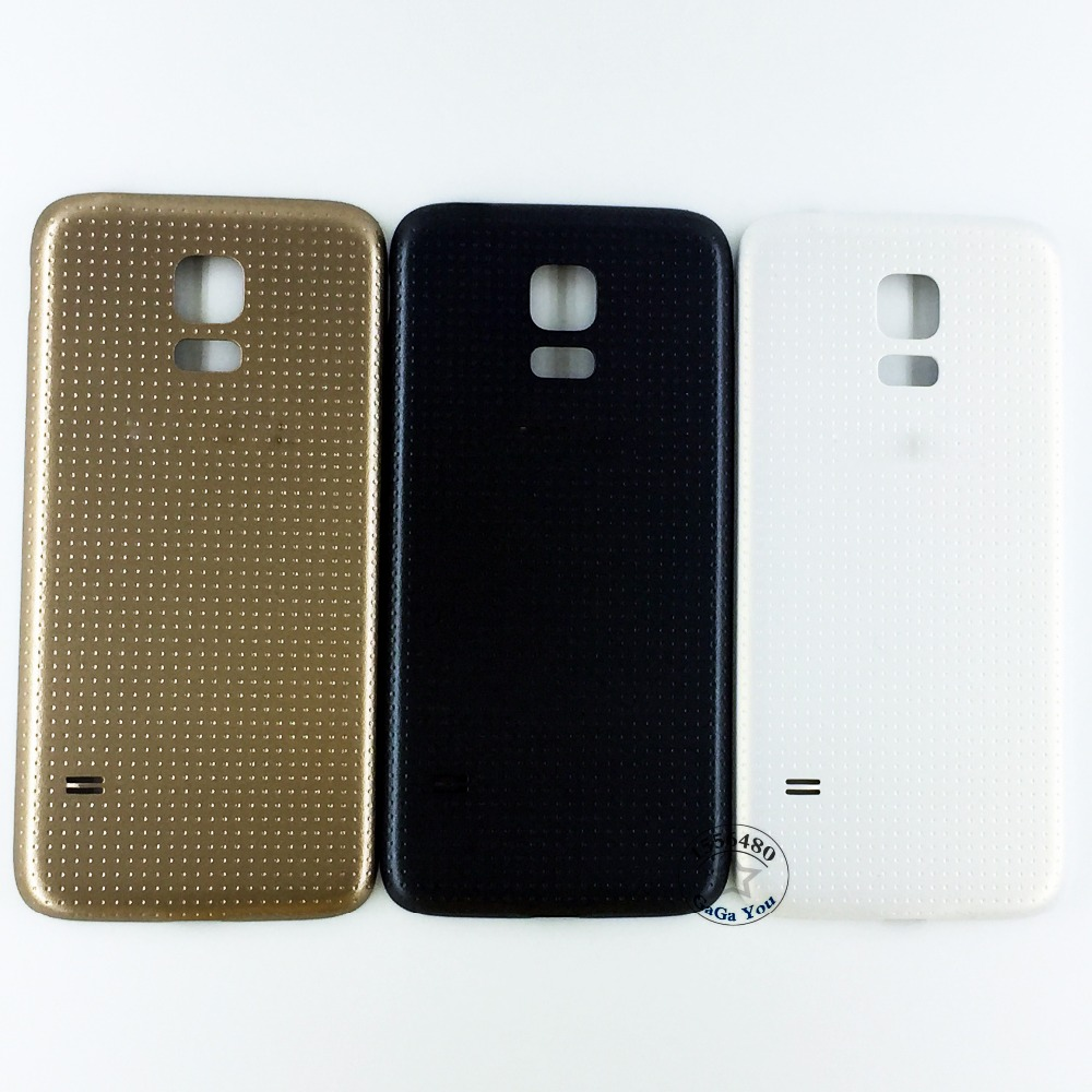 10 PCS/LOT Black/White Battery Door Back Housing Back Cover Case for Samsung Galaxy S5 Mini G800