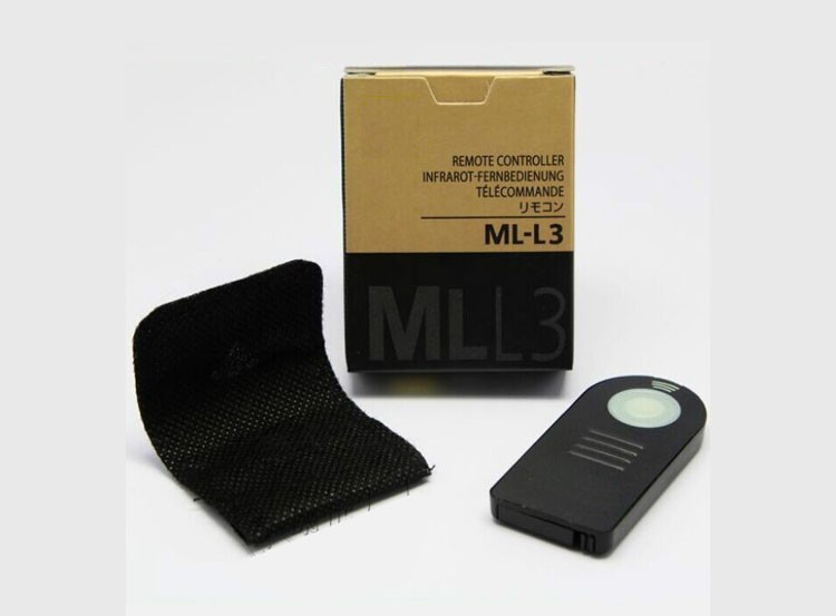image for ML-L3 ML L3 IR Wireless Remote Control For Nikon D7000 D5100 D5000 D30