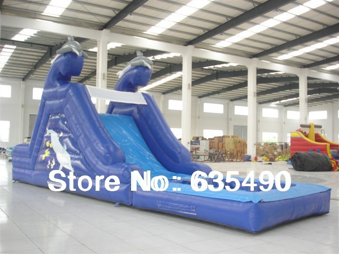 PVC 7x3x3.5m tarpaulin inflatable bouncers with slide for kids and baby(China (Mainland))