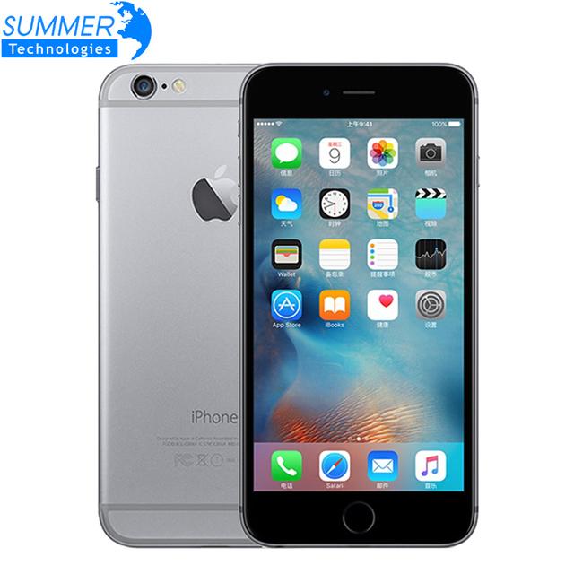 """Оригинальный Разблокирована Apple iPhone 6 Plus Мобильный Телефон GSM WCDMA LTE 1 ГБ ОПЕРАТИВНОЙ ПАМЯТИ 16/64/128 ГБ ROM 5.5 """"IPS iPhone6 Plus Используется Смартфон"""