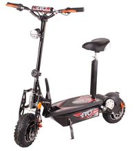 Evo evo folding electric bicycle electric scooter wheel scooter compact disc shock absorption led lighting(China (Mainland))