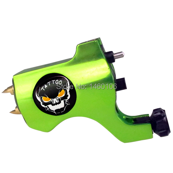 Hot Sale Professional Bishop Tattoo Rotary Gun Machine Liner&Shader Motor with Hook line interface 4colors Freeshipping(China (Mainland))