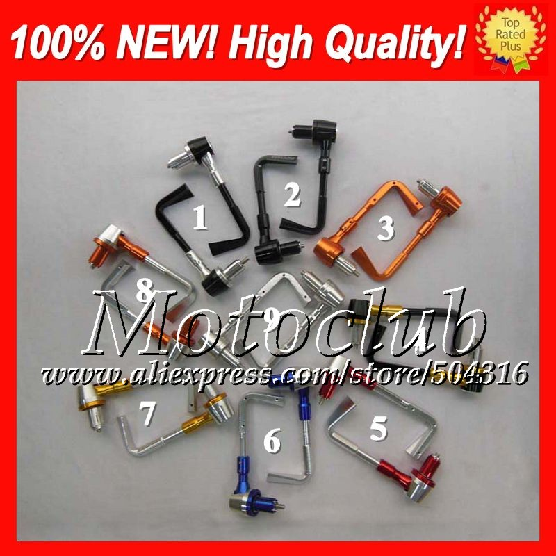 Фотография CNC Brake Clutch Levers Protect Guard For Aprilia RS4 125 RS125 RS 125 RS-125 RSV125 2006 2007 2008 2009 2010 2011 Pro Lever