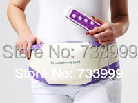 Electric Massage belt fat burning oscillate slimming belt , Slender Shaper with vibrating motors free shipping(China (Mainland))