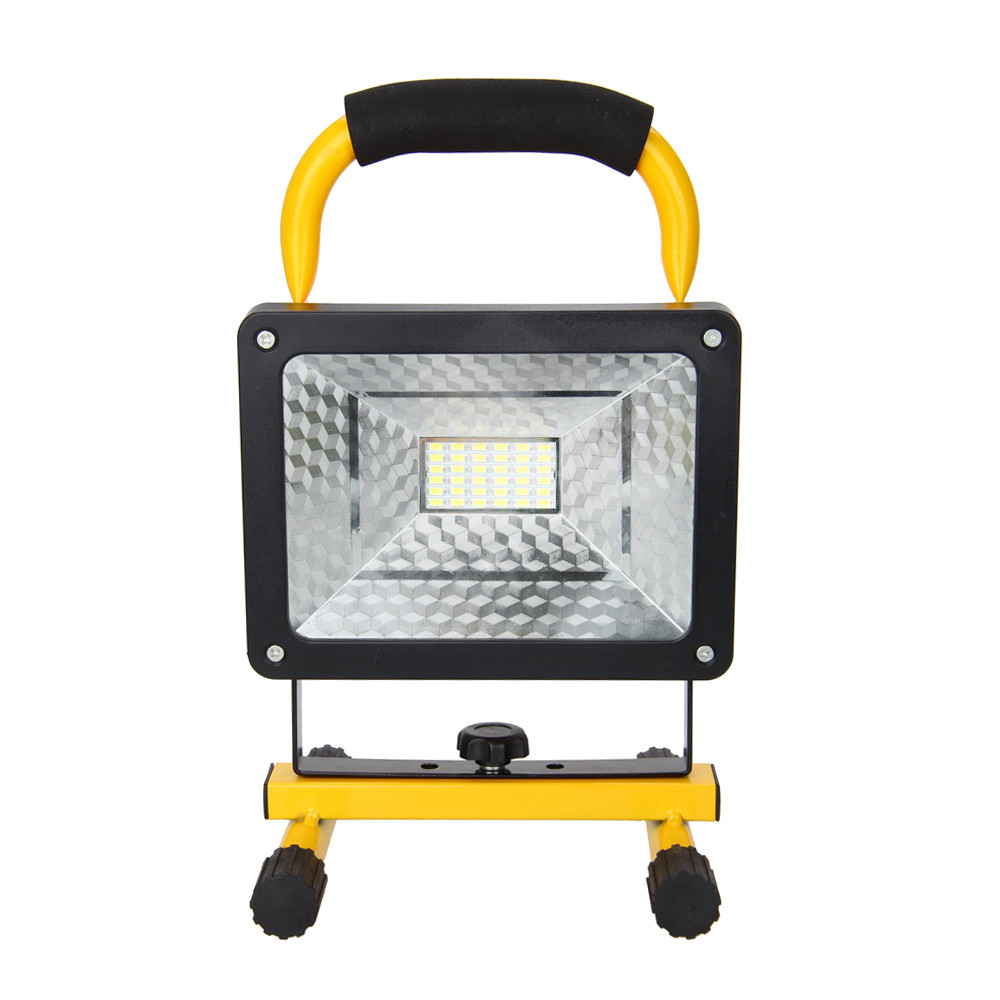 Outdoor Lights Portable: Rechargeable 3000Lm 36 LED 50W Portable Flood Spot Work