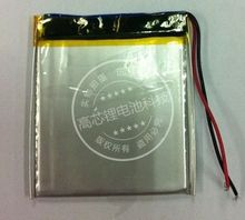3 7V lithium polymer battery 405065 045065 MP4 MP5 GPS digital products 1400MAH