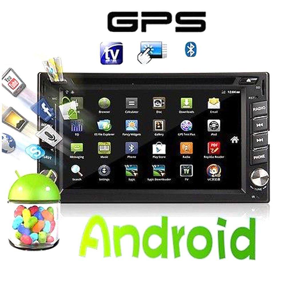 Pure Android 4.2 Car Stereo In Dash Double Din Radio Auto ...