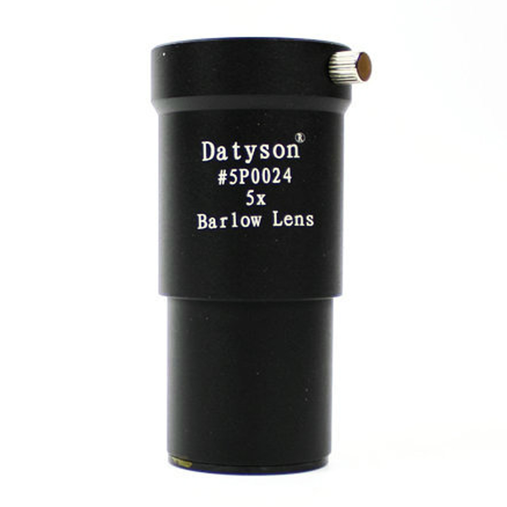 T-adapter + Barlow lens 1.25'' 5X Barlow Lens M42 Thread for 31.7mm Telescopes Eyepiece CA1T(China (Mainland))