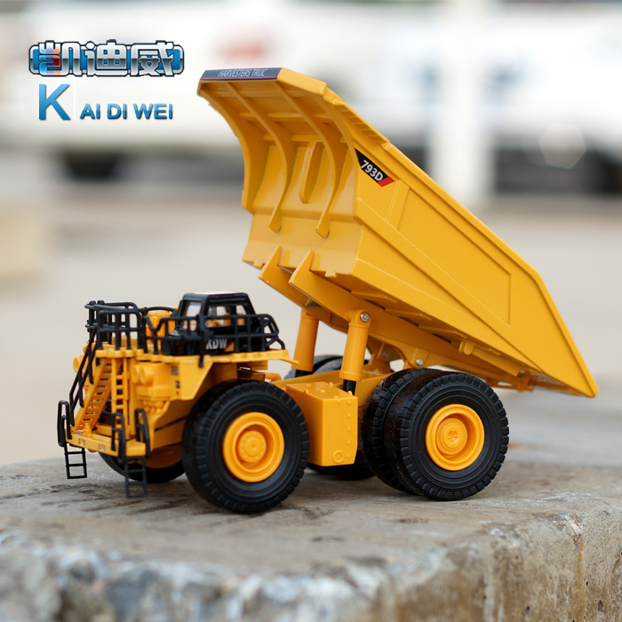 Highway dump truck model a large wide-body metal alloy car models(China (Mainland))