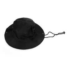 New Hot Outdoor Men Women Unisex Hat for Fishing Trekking Camping Hiking Sport Sun Cap Round Rim Hat (Black)