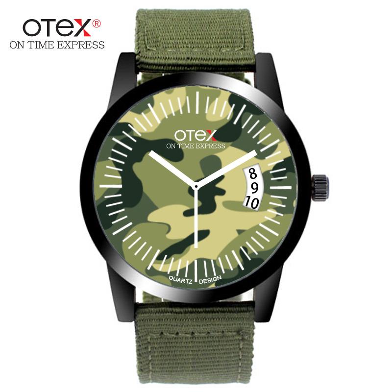 Nylon Band Men Military Watches Fashion Casual Quartz-Watch Luxury Brand Quartz Clock Male Army Wristwatch Relogio Masculino(China (Mainland))